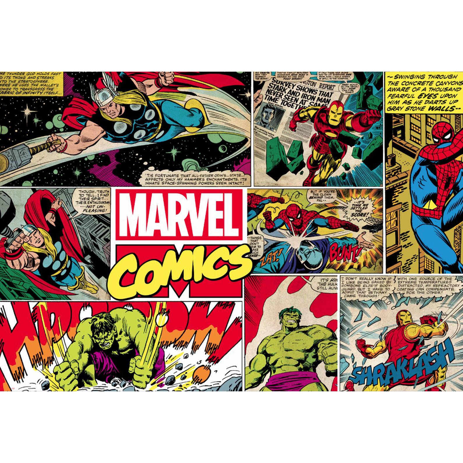 Marvel Wallpaper Wall Art Superhero Comic Part 73