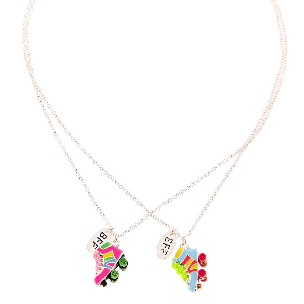 Women's Jewellery Best Friends Neon Roller Skate Pendant Necklaces
