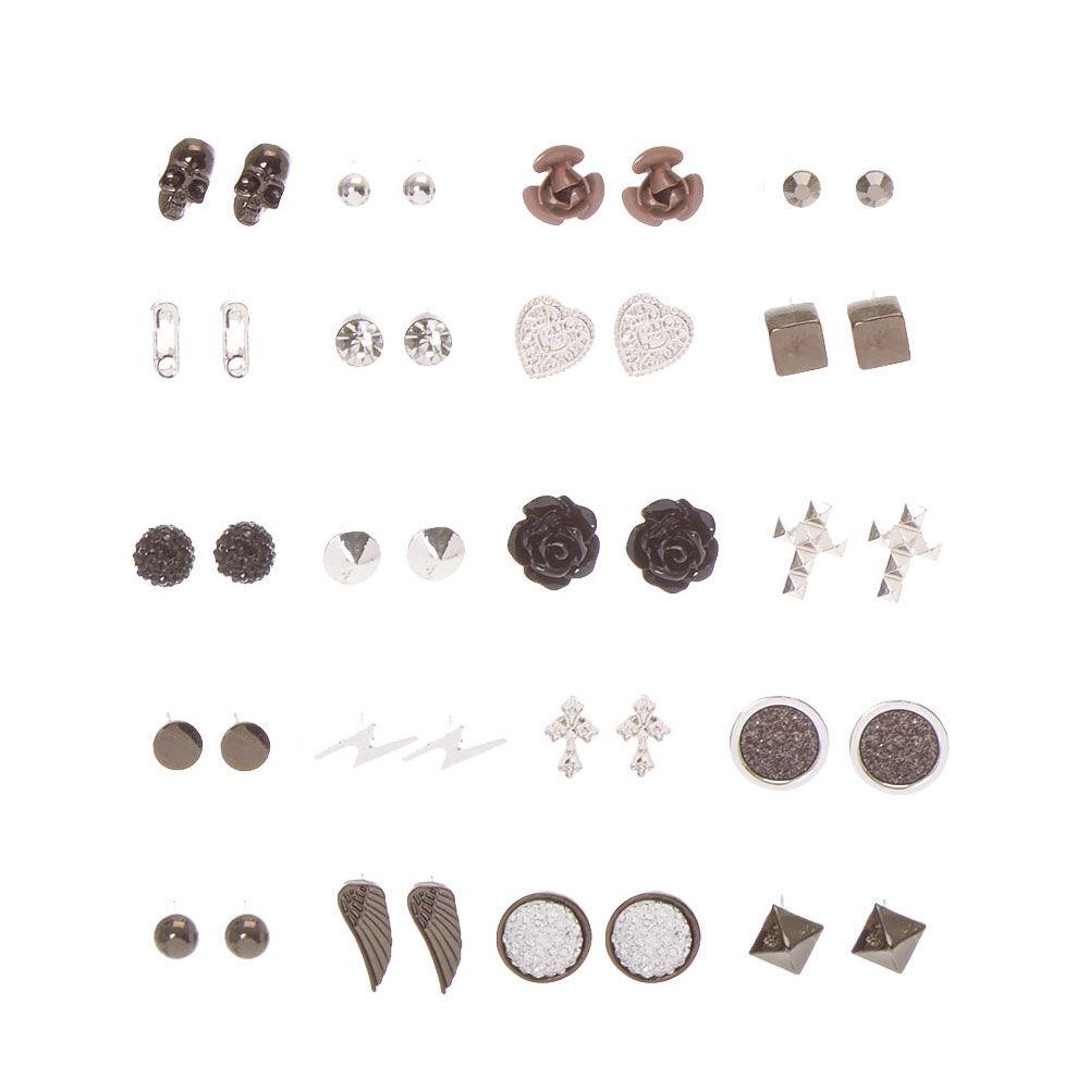 Women's Jewellery Gothic Romance Stud Earrings Set of 20