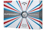 Callaway Golf Supersoft 12 Ball Pack 2017
