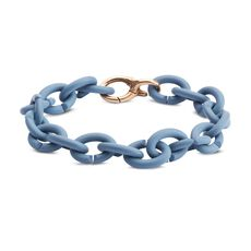 Ocean Blue Bronze Bracelet