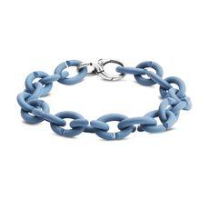 Ocean Blue Silver Bracelet