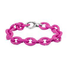 Pink Silver Bracelet