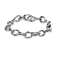 Classic Double Silver Bracelet