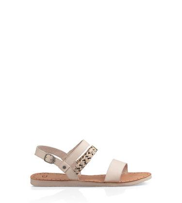 Womens Sandals Amp Flip Flops Ugg 174 Leather Flip Flops