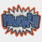 PHWOAR! Sticker by Anya Hindmarch