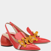 Apex Sling Back Pumps in {variationvalue} from Anya Hindmarch