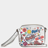 All Over Stickers Cross-Body in {variationvalue} from Anya Hindmarch