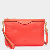 Chubby Zip-Top Pouch  by Anya Hindmarch