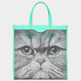 Cat Mesh Tote by Anya Hindmarch