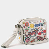 All Over Sticker Cross-body in {variationvalue} from Anya Hindmarch