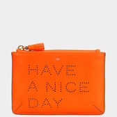 Have a Nice Day Loose Pocket  in {variationvalue} from Anya Hindmarch