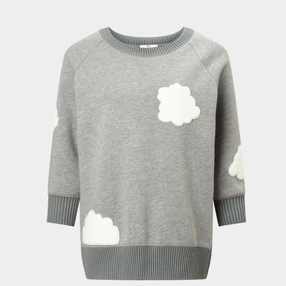 Cloud Sweatshirt in {variationvalue} from Anya Hindmarch