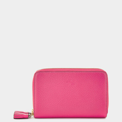 Bespoke Double-Zip Wallet in {variationvalue} from Anya Hindmarch