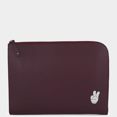 Victory Document Case by Anya Hindmarch