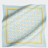 Eggs Large Silk Scarf by Anya Hindmarch