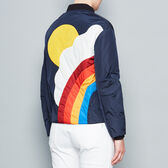 Silver Cloud bomber jacket in {variationvalue} from Anya Hindmarch