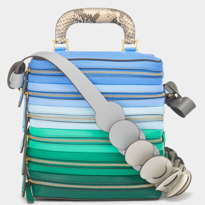 Circle Six Zip Stack in {variationvalue} from Anya Hindmarch