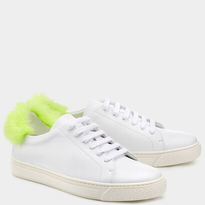 Fur Sneakers in {variationvalue} from Anya Hindmarch
