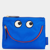 Happy Eyes Pouch by Anya Hindmarch