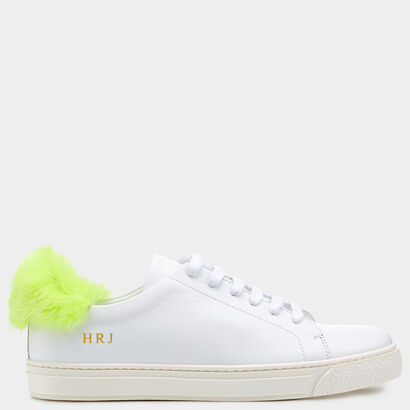 Fur Sneakers by Anya Hindmarch