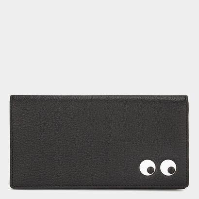 Men's Eyes Slimline Wallet by Anya Hindmarch