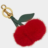 Cherry Mink Tassel in {variationvalue} from Anya Hindmarch