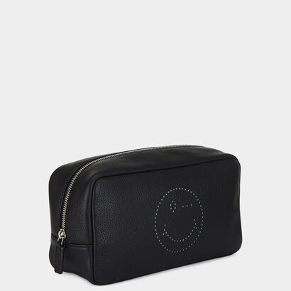 Wink Men's Wash Bag by Anya Hindmarch