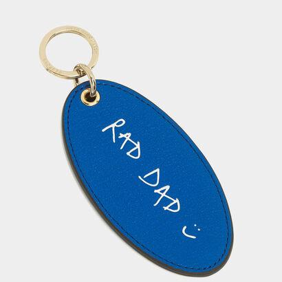 Bespoke XL Key Tag in {variationvalue} from Anya Hindmarch