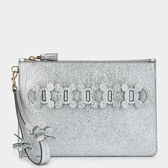Circulus Large Zip-Top Pouch by Anya Hindmarch