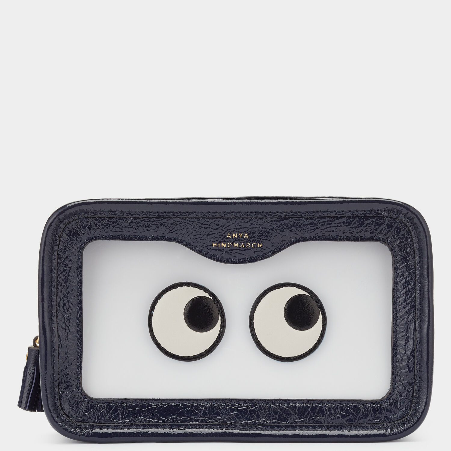 Eyes Rainy Day Make-Up Pouch by Anya Hindmarch