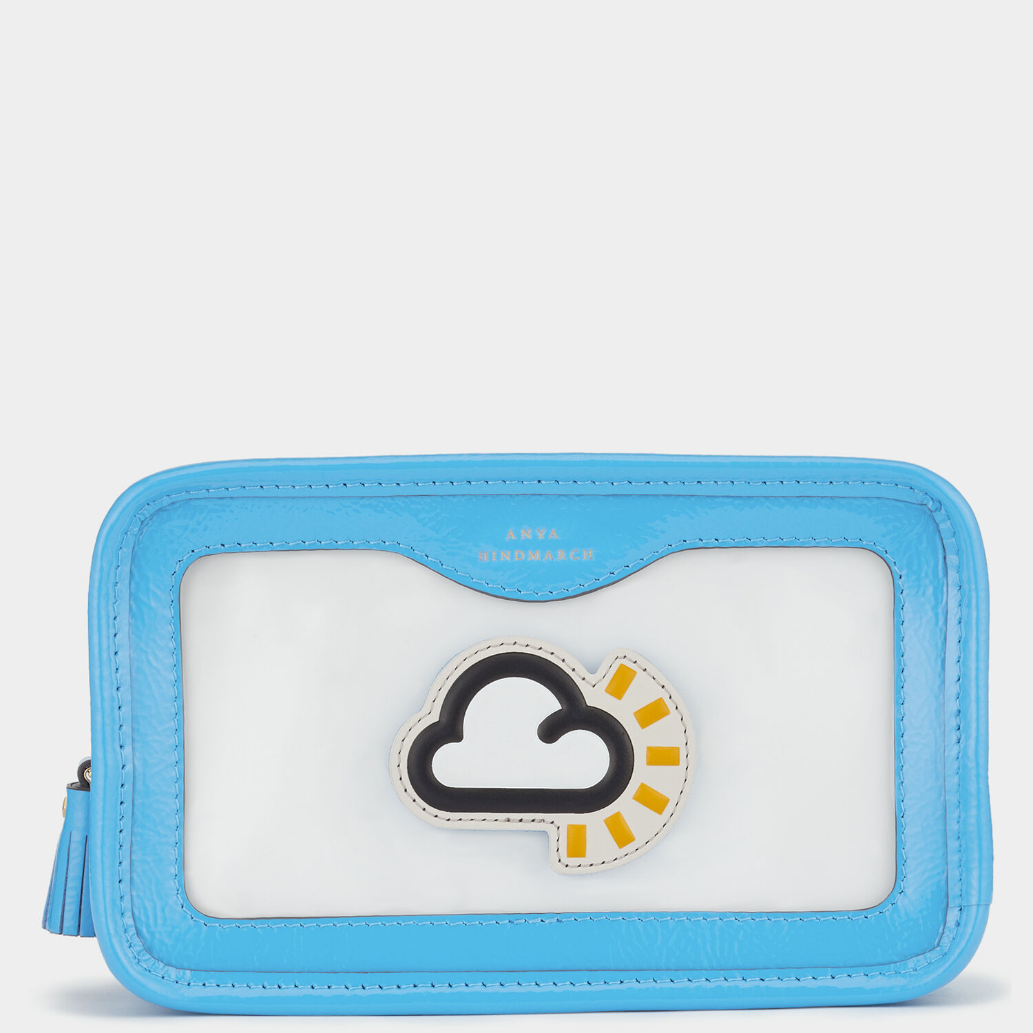 Rainy Day Make Up Pouch by Anya Hindmarch