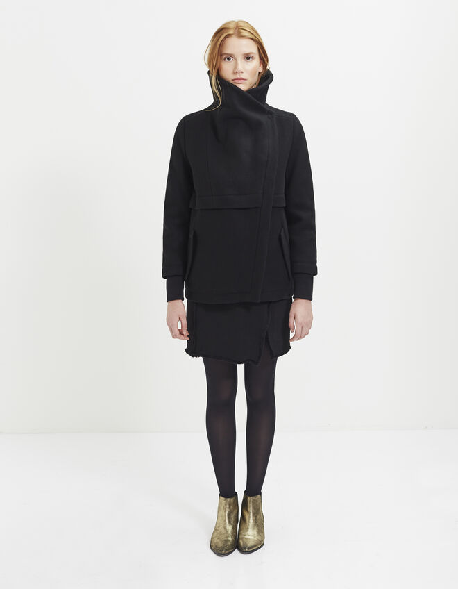 Women&39s short pea coat | IKKS Fall Winter | IKKS ARCHIVE H16