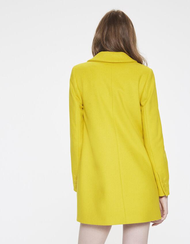 manteau en laine femme ikks mode manteau parka trench automne hiver. Black Bedroom Furniture Sets. Home Design Ideas