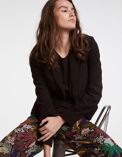 veste courte femme ikks mode tout voir automne hiver. Black Bedroom Furniture Sets. Home Design Ideas