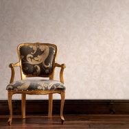 Capulet Gold Wallpaper, , large