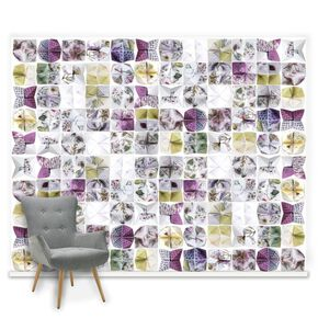 Couture Botanical Origami Mural, , large