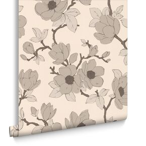 Elinor Gold Wallpaper, , large