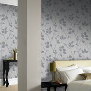 Virtue Grey Wallpaper, , large