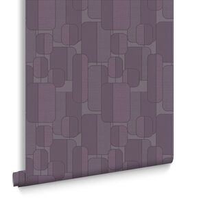 Ponder Plum Wallpaper, , large