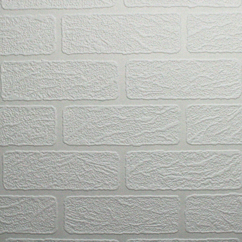 Brick Paintable Wallpaper, , Large ...