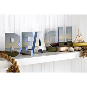 Beach Shaped Letters, , large