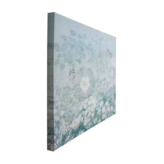 Spring Floral  Printed Canvas, , large