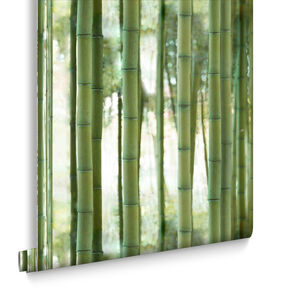 Bambou Forest Wallpaper, , large