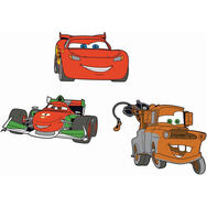Cars 2 Foam Elements 3pcs, , large