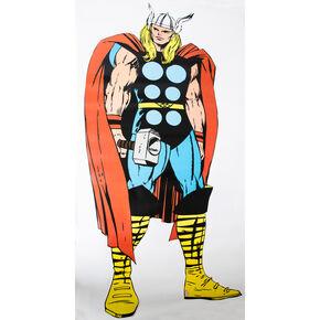 Marvel Comics Lebensgroßer Wandsticker Thor, , large