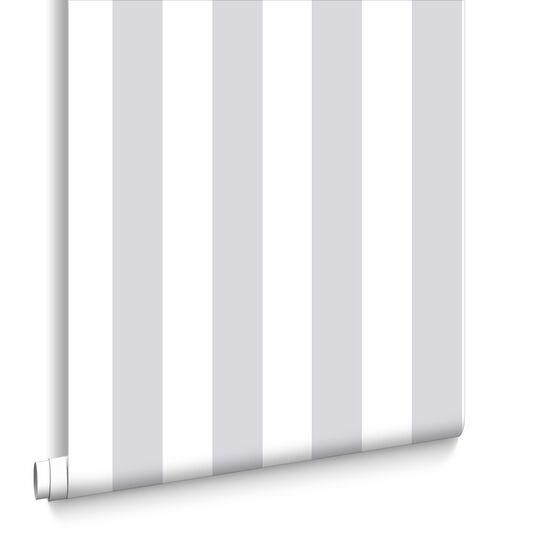 Silver Stripe Wallpaper, , large