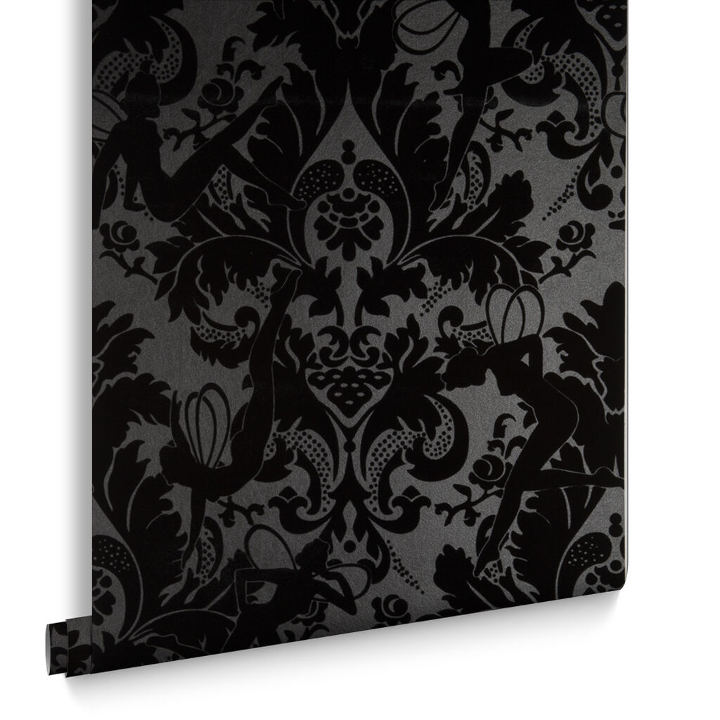 Black Wallpaper Designs Striped Patterned Black Wallpaper