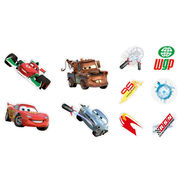Mini décor en mousse Cars – 10pièces, , large