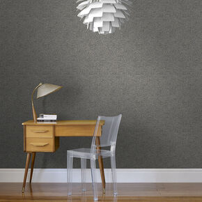 Confetti Charcoal & Pale Gold Wallpaper, , large